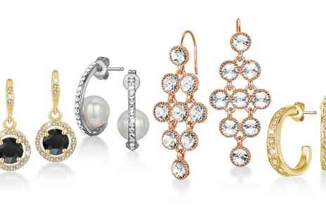 Neverland Sales - Mestige Clearance Earrings Sets with Crystals from Swarovski With Free Delivery - Save 86%