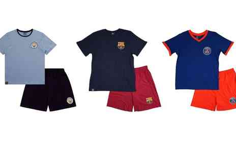 Groupon Goods Global GmbH - Mens Officially Licensed Football Short Pyjama Set - Save 0%