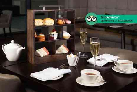DoubleTree by Hilton Hotel - Afternoon tea for two with a bottle of bubbly to share - Save 56%