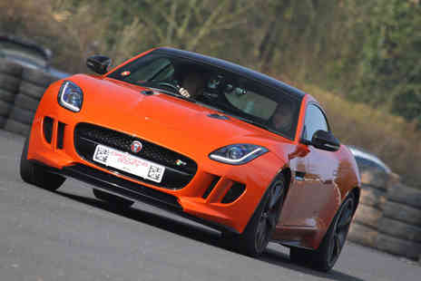 Driving Gift - Supercar thrill driving experience with four laps in a Jaguar F Type or Audi R8 - Save 61%