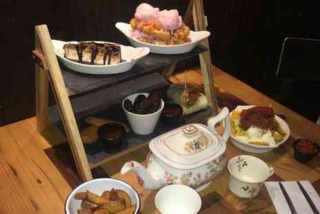 Beyond Bar - New York themed afternoon tea for two or four people with a teapot cocktail - Save 54%