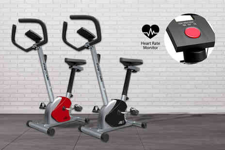 Discount Cycle Shop - Heavy duty home exercise bike choose red or black - Save 59%
