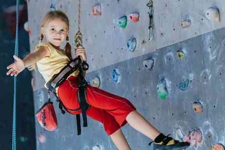 Extreme Ventures - One hour junior climbing session for one child or two children - Save 60%