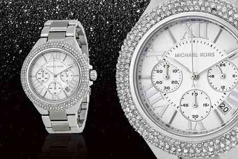 Wristy Business - Ladies Michael Kors MK5634 Camille stainless steel watch - Save 53%