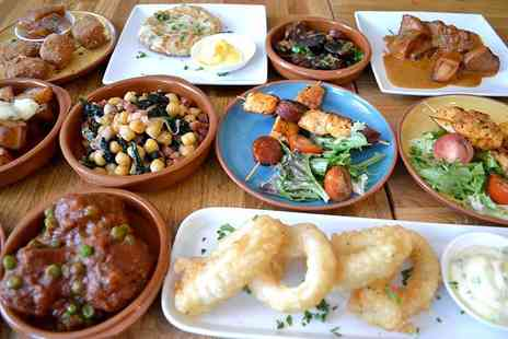 Para Ti - Five tapas dishes to share between two with a glass of sangria each or 10 tapas dishes to share between four with a glass of sangria each - Save 59%
