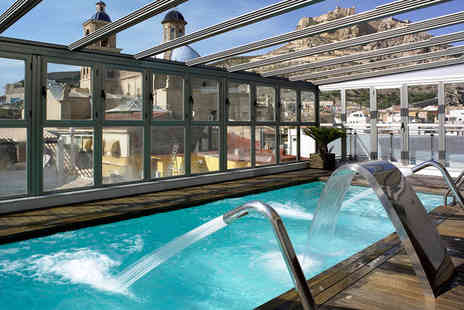 Hotel Hospes Amerigo - Five Star Rooftop Spa Hotel Stay For Two with Cathedral Views - Save 57%