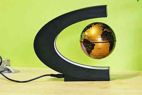 HXT Goods - Led Floating Globe Choose 3 Colours - Save 64%