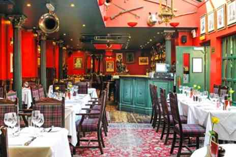 Boisdale Belgravia - Fine Scottish 3 course meal & bubbly - Save 53%