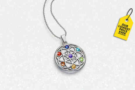 Lily Spencer - Chakra crystal pendant necklace - Save 89%