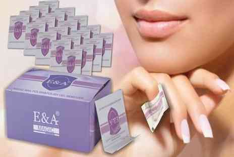 Forever Cosmetics - 120 polish removal wraps - Save 83%