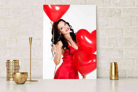 Deco Matters - Personalised a4 canvas - Save 90%