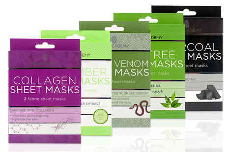 Jynx Direct - Pack of eight sheet masks - Save 75%