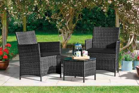Groupon Goods Global GmbH - Outdoor Furniture Bundle in a Choice of 7 Styles With Free Delivery - Save 71%