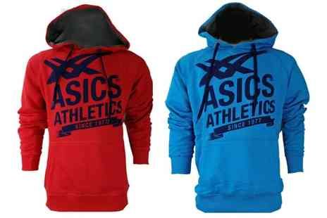 Groupon Goods Global GmbH - Asics Mens Hoodie with Kangaroo Pocket - Save 0%