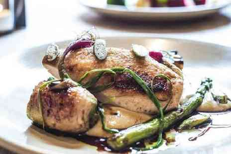 The Milestone Bar and Restaurant - Two Course Sunday Lunch Meal for Two or Four - Save 47%
