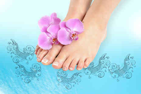 We Eat Any Feet - 30 minute Garra Rufa fish pedicure - Save 72%