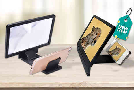 DM Logistic Solutions - 3D smartphone screen amplifier - Save 75%