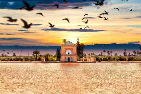Bargain Late Holidays - Two, three or four night Marrakech stay with breakfast and flights - Save 51%