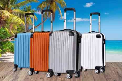 MC California USA - Hard shell cabin case choose from four colours - Save 85%