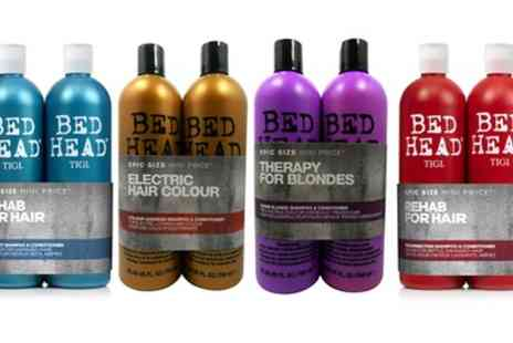 Groupon Goods Global GmbH - One or Two TIGI Bed Head Shampoo and Conditioner Sets 750ml - Save 54%