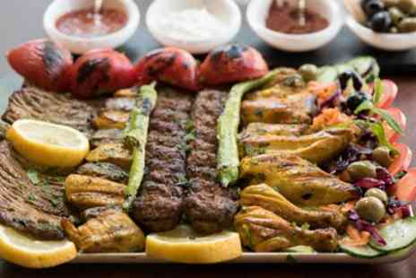 Rumi Restaurant - Sharing Platter with Grilled Main and Persian Tea for Two or Four - Save 44%