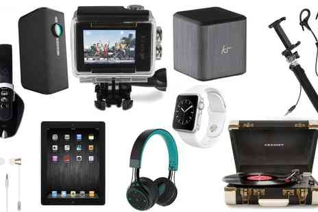 Groupon Goods Global GmbH - Electronics Mystery Gift Deal with Chance to Receive Apple iPad 3, Samsung Speaker, or BlueAnt Headphones - Save 0%