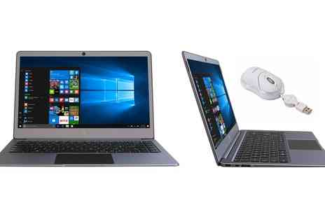 Groupon Goods Global GmbH - Gemini Ultra Slim Laptop 14.1 inch HD IPS 4GB 32GB Windows 10 USB 3.0 With Free Delivery - Save 0%