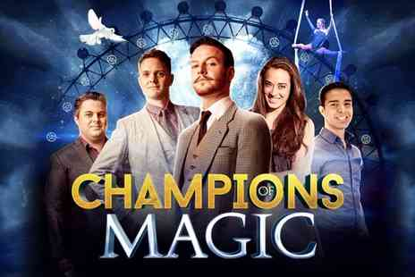 RIP Productions - Champions of Magic Ticket on 30 March at Dunstable or 11 to 14 April at Edinburgh or 15 April at Reading - Save 41%