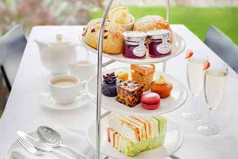 Hilton York - Traditional or Vegetarian Afternoon Tea with Optional Glass of Prosecco for Two or Four - Save 52%