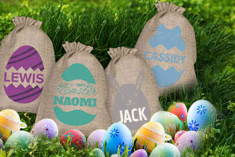Personalised Gifts Market - Personalised Easter egg sack - Save 70%