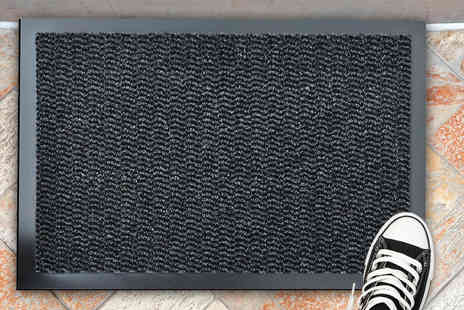 Home Decoration & Fashion - Rubber backed door mat - Save 71%