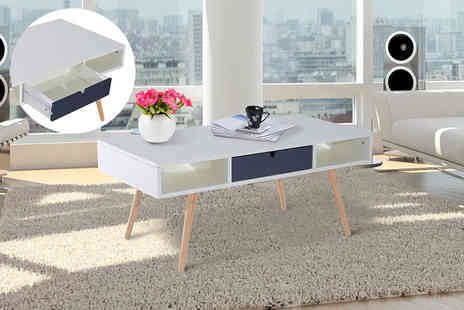 Aosom - Scandinavian style coffee table - Save 56%