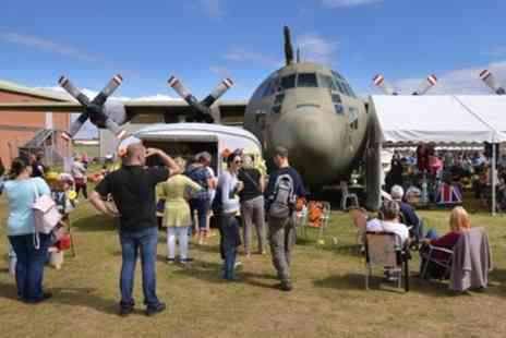 Royal Air Force Museum - One entry ticket for two adults or family of six to Vintage and Handmade Festival - Save 25%