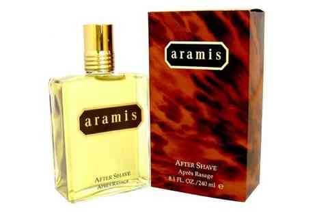 Groupon Goods Global GmbH - Aramis Aftershave for Men 240ml - Save 43%