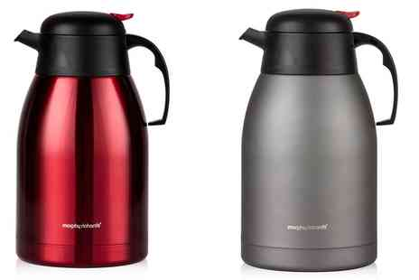 Groupon Goods Global GmbH - Morphy Richards 2000ml Vacuum Flask - Save 55%