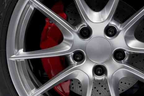 Midlands Alloy Wheel Refurbishment - Powder coat finish for one wheel Alloy Wheel Refurbishment  - Save 51%