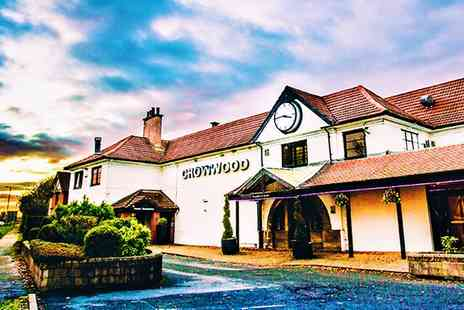 The Crow Wood Hotel - Traditional or High Afternoon Tea for Two or Four - Save 58%