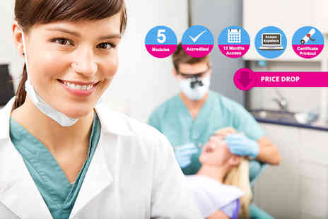 International Open Academy - Online dental assistant course - Save 84%