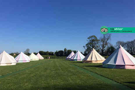 Botany Camping - Two or three nights of luxury glamping in a bell tent for up to five - Save 50%