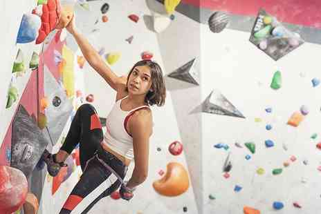 Chimera Climbing Centre - Womens only climbing session and shoe hire for one or two - Save 59%