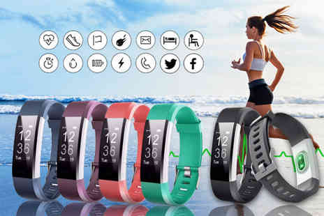 HXT Goods - 14 in 1 fitness tracker with heart rate monitor - Save 86%