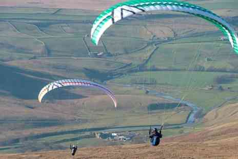 Sunsoar Paragliding - Solo Paragliding Taster Experience For One or Two - Save 52%