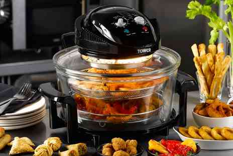 Groupon Goods Global GmbH - Tower Halogen Low Fat Air Fryer - Save 66%