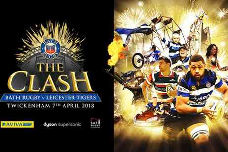 Bath Rugby - One child or adult category C or B ticket to The Clash: Bath Rugby vs Leicester Tigers on 7 April - Save 0%