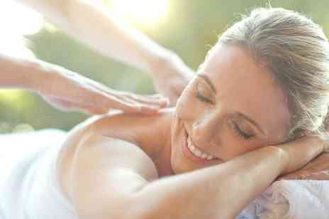 Coco - Back, Neck and Shoulders Massage with Express Facial or Swedish Full Body Massage - Save 56%