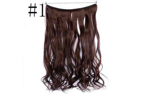 HXT Goods - Invisible Elastic Hair Extensions Choose from 5 Colours - Save 61%