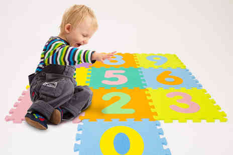 Ckent - Alphabet or number puzzle play mat - Save 64%
