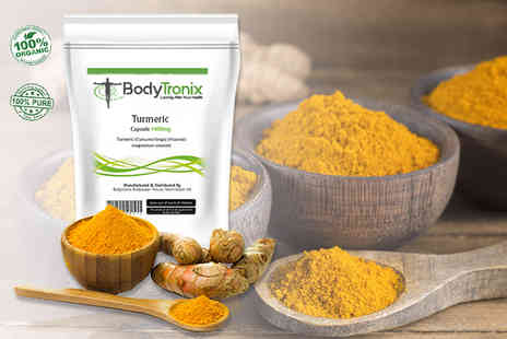 BodyTronix - Four month supply of turmeric capsules - Save 68%