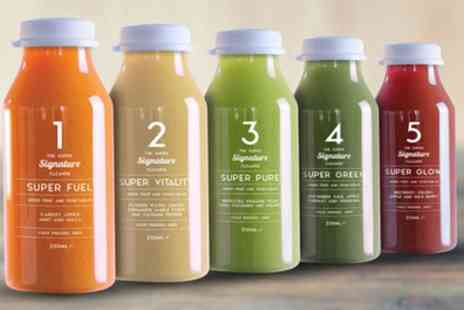 supereleven.com - Super Eleven Three or Five Day Cold Pressed Juice Cleanse - Save 71%
