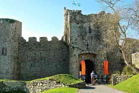 Manorbier Castle - Manorbier Castle Entry for Two Adults or Family of Four - Save 45%